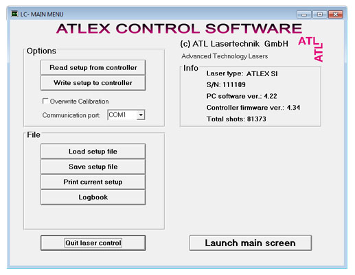 Control Software